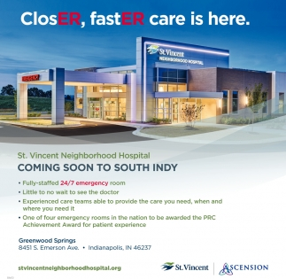 ClosER, FastER Care Is Here