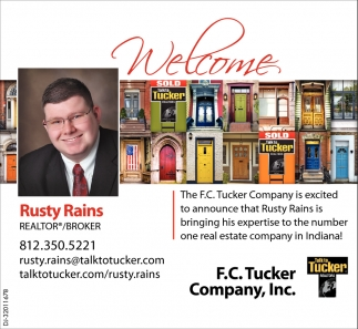 Welcome Rusty Rains
