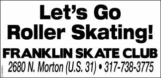 Let's Go Roller Skating!