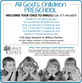 All God's Children Preschool