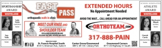 Extended Hours, No Appointment Needed