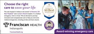 Award-winning Emergency Care