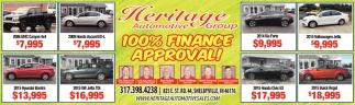 100% Finance Approval!