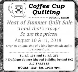 Heat Of Summer Quilt Sale