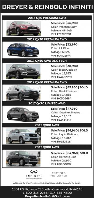 2015 Q50 Premium AWD