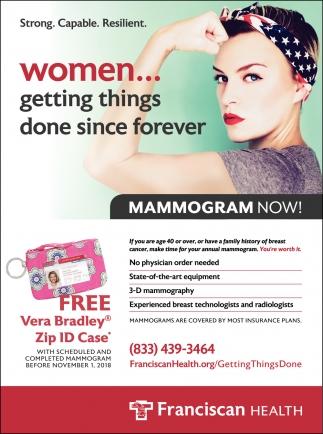Mammogram Now!