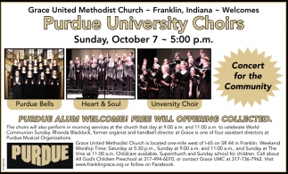 Purdue University Choirs