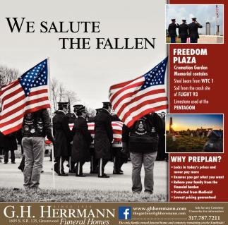 We Salute The Fallen