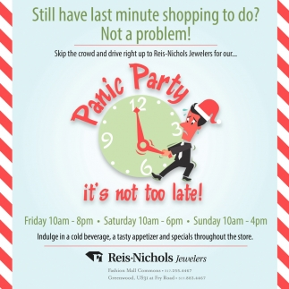 Still Have Last Minute Shopping To Do? Not A Problem!