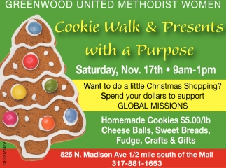 Cookie Walk & Presents With A Purpose