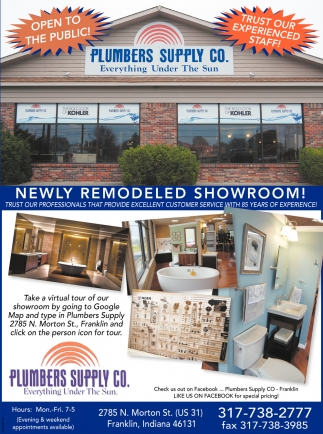 New Remodeled Showroom!
