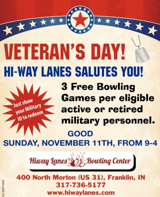 Veteran's Day!