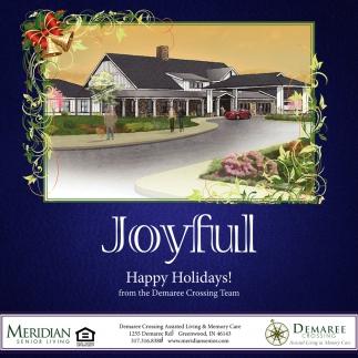 Joyful Happy Holidays!
