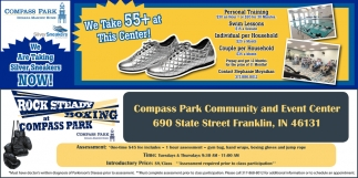 We Take 55+ At This Center!, Compass Park , Franklin, IN