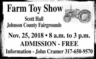 Farm Toy Show
