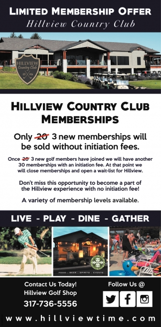 Limited Membership Offer