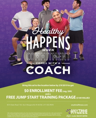 Healthy Happens When Commitment Comes With A Coach