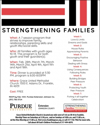 Strengthening Families