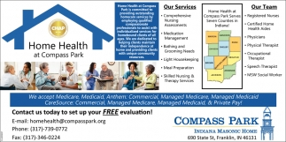 Home Health At Compass Park