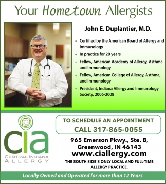 Your Hometown Allergists