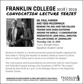 Convocation Lecture Series