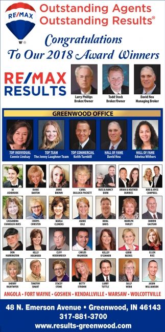 Outstanding Agents, Outstanding Results