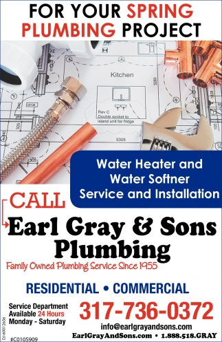 For Your Spring Plumbing Project