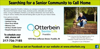 Searching For A Senior Community To Call Home