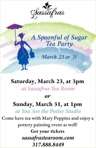 A Spoonful Of Sugar Tea Party