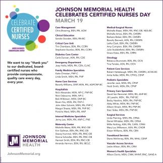 Celebrate Certified Nurses