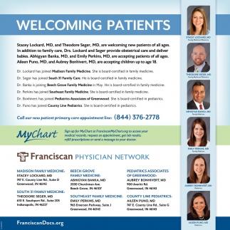 Welcome Patients