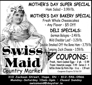 Mother's Day Super Special