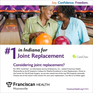 Cosidering Joint Replacement?
