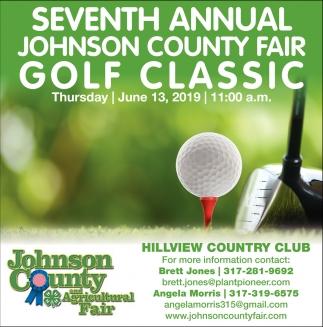 Seventh Annual Johnson County Fair Golf Classic