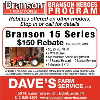 Branson Heroes Program