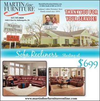 Sofa Recliners
