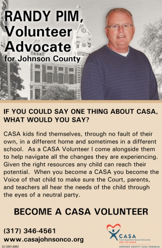 Become A Casa Volunteer
