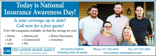 Today Is National Insurance Awareness Day!