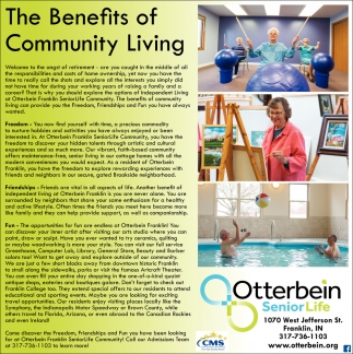 The Benefits Of Community Living