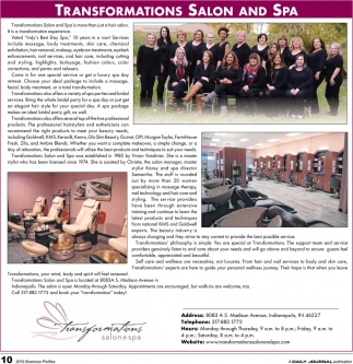 Transformations Salon And Spa