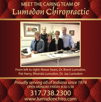 Meet The Caring Team Of Lumsdon Chiropractic