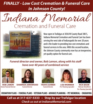 Finally - Low Cost Cremation And Funeral Care In Johnson County!