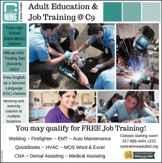 You May Qualify For Free Job Training!