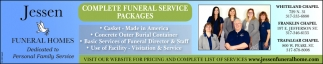Complete Funeral Services Packages