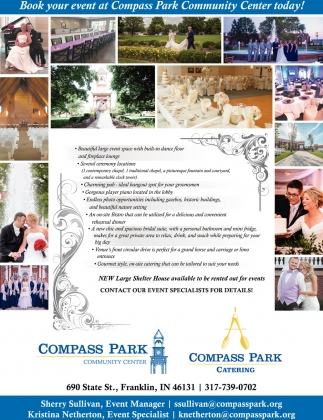 Book Your Event At Compass Park Community Center Today!