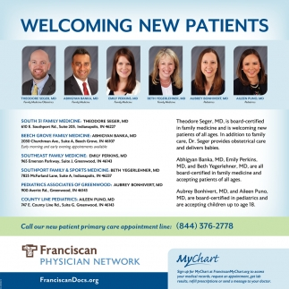 Welcoming New Patients