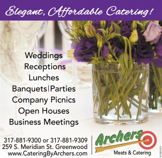 Elegant, Affordable Catering!