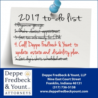 2019 To  Do List