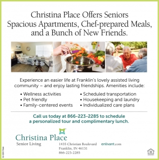 Offers Seniors Spacious Apartments, Chef-prepared Meals, And A Bunch Of New Friends.