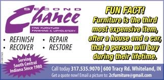 Refinish - Repair - Recover - Restore